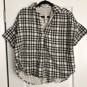Madewell Button-Back Courier Top